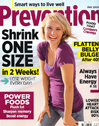 prevention magazine may 2009 cover